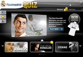 El Real Madrid C.F. lanza la aplicación `Real Madrid Quiz´ para Facebook reputacion online redes sociales marketing online facebook desarrollo web