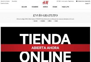 Tienda online H&M tienda online posicionamiento web marketing online digital domain comercio online campañas online