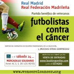 Futbolistas Real Madrid y Digital Domain, contra el cáncer venderelcancer.org Vencer el cancer Real Madrid partido solidario Fundacion vencer el cancer Federacion madrileña de futbol ex jugadores real madrid digital domain bookingsmiles